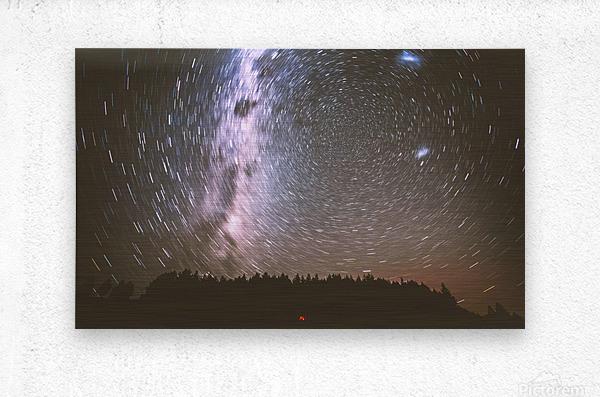 Spin of stars  Metal print