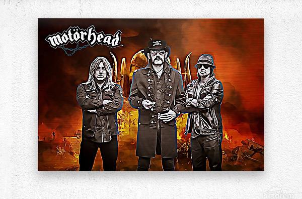 Motorhead  Metal print