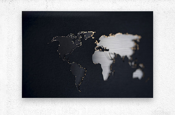 Dark Continent Briala  Metal print