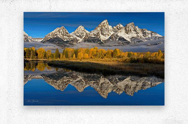 Grand Teton National Park  Metal print