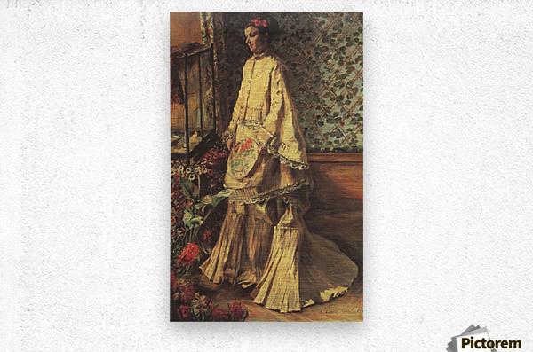 Portrait of Rapha by Renoir  Metal print