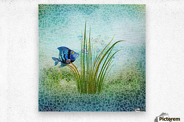Billy the fish  Metal print
