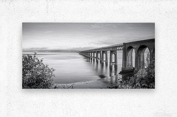 Tay Rail Bridge, Dundee, Scotland  Metal print