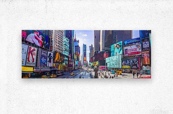 Times Square, New York City  Metal print