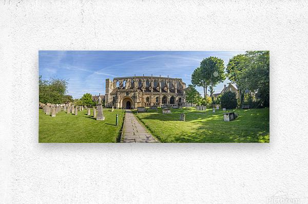Historic Malmesbury Abbey, Wiltshire  Metal print