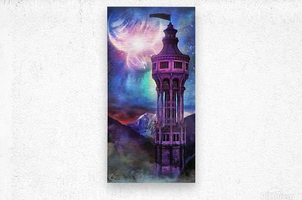 Interregnum Tower  Metal print