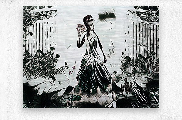 Natures Monarch of the Wild  Metal print