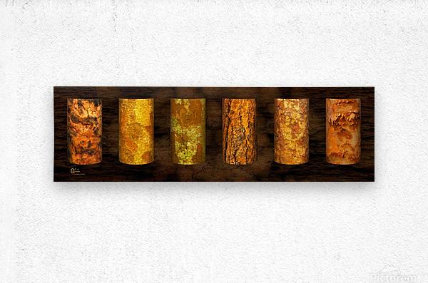 tree bark strong  Metal print