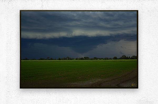 coraki storm  Metal print