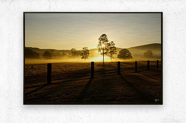 glenreagh sunrise  Metal print
