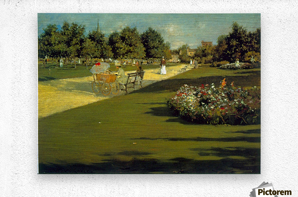 Prospect Park by Chase  Metal print