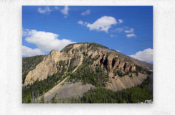 Yellowstone National Park 2  Metal print