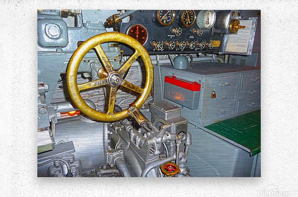 Submarine 2  Metal print