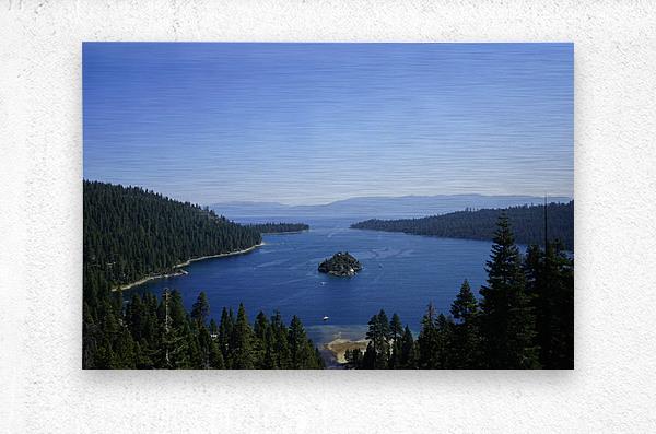 Top of the Lake  Metal print