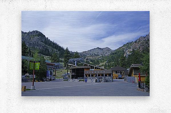 Spring at Lake Tahoe 3 of 7  Metal print