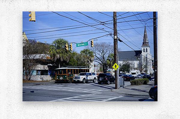 Snapshot in Time Charleston 1 of 5  Metal print