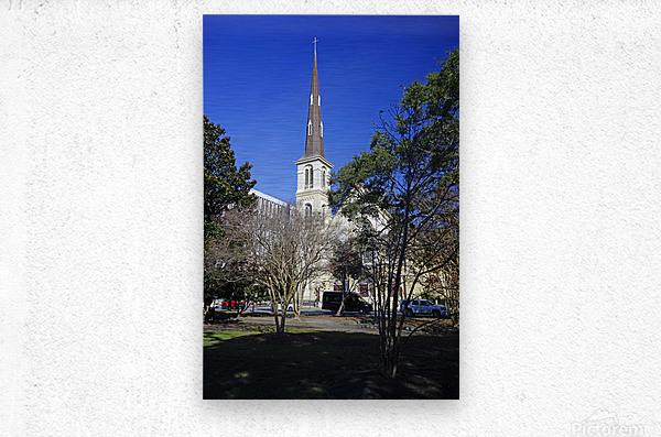 Snapshot in Time Charleston 2 of 5  Metal print