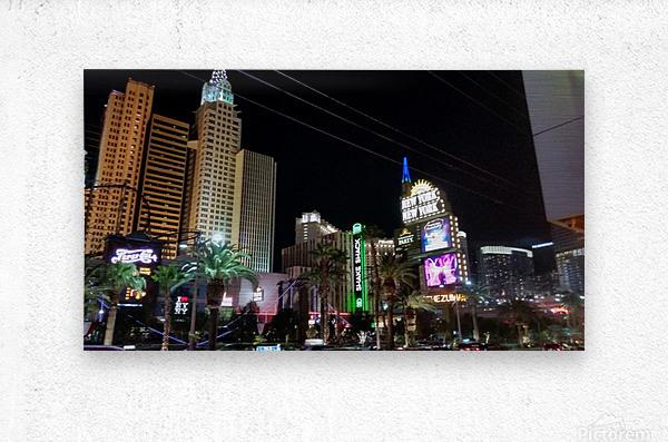 Viva Las Vegas 2  Metal print