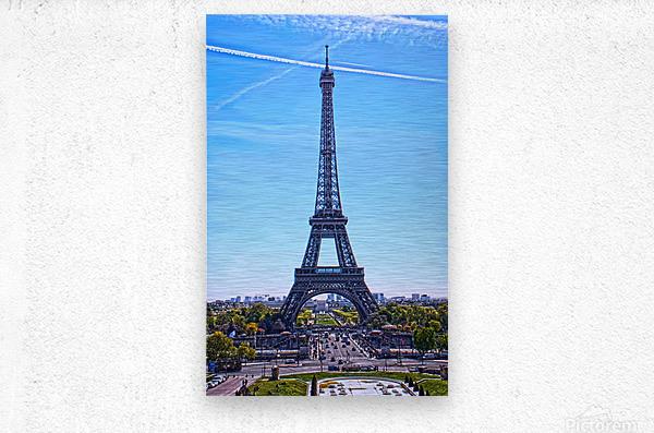 Majestic Eiffel  Metal print
