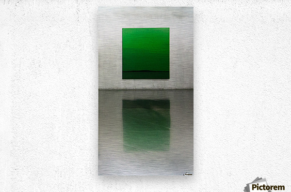 Green by Toni Guerra   Metal print