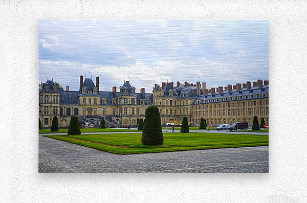 Chateaus of France 3  Metal print