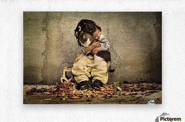 Untitled by Iacob Anca   Metal print