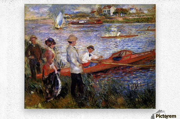 Rowers from Chatou by Renoir  Metal print