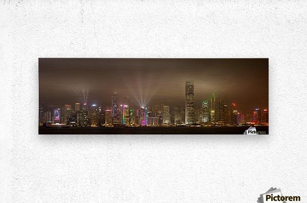 Hong Kong Island by Daniel Murphy   Metal print