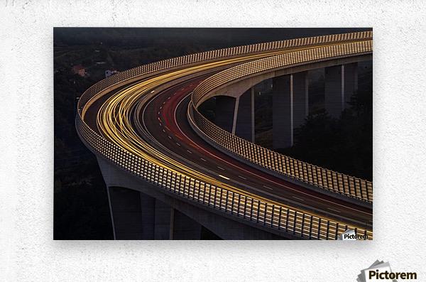 Viadukt AŒrni Kal by Jaka Ivancic   Metal print