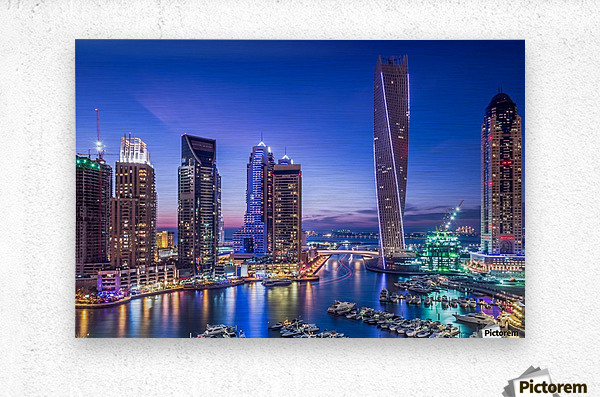 Dubai Marina  Metal print