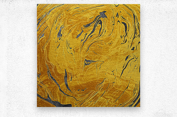 Abstract Marble XXX  Metal print