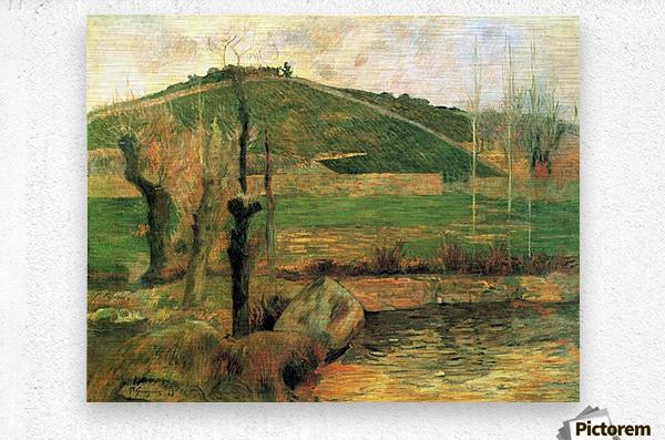 Sainte Marguerite near Pont-Avon by Gauguin  Metal print