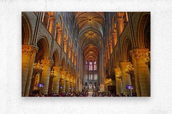 Saint Croix Cathedral France  Metal print