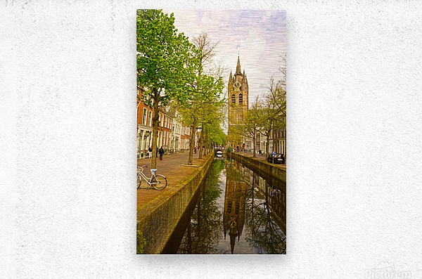 A Dream of the Netherlands 1 of 4  Metal print