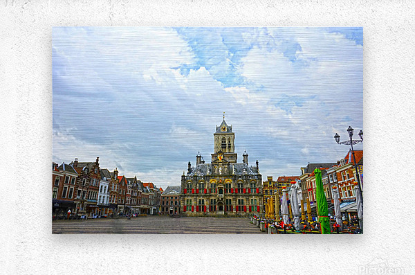 A Dream of the Netherlands 2 of 4  Metal print