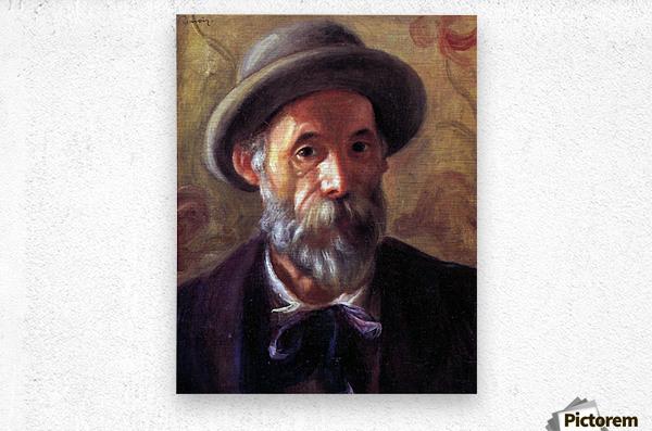 Self Portrait 1 by Renoir  Metal print