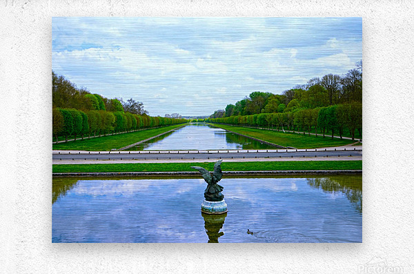 A View for Kings Chateaus of France  Metal print