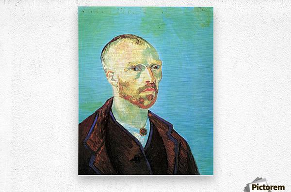 Self-Portrait Dedicated to Paul Gauguin  Metal print