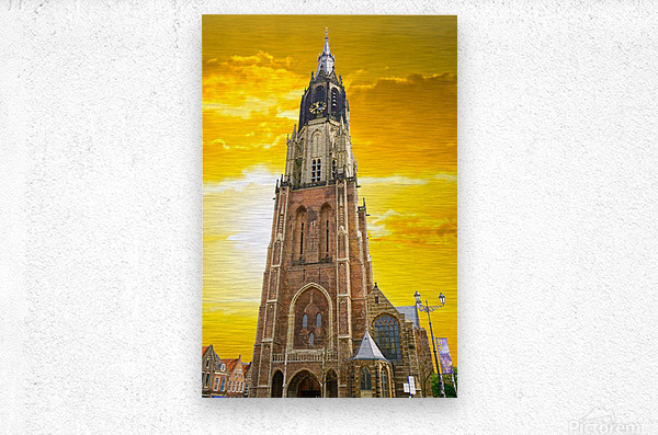 A Dream of the Netherlands 4 of 4  Metal print