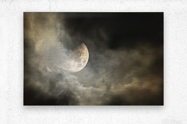 Goodnight Moon   Metal print