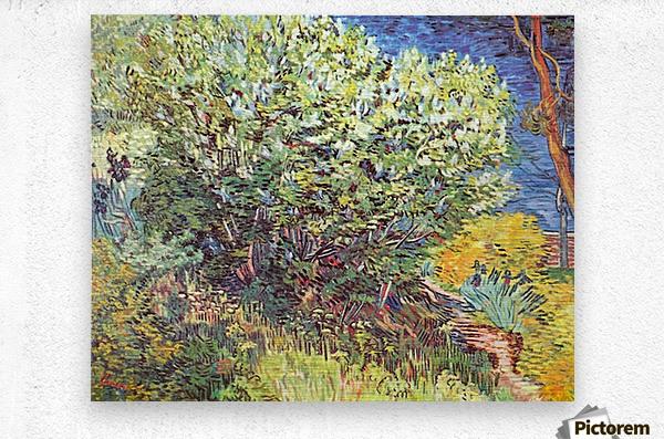 Slip Away by Van Gogh  Metal print
