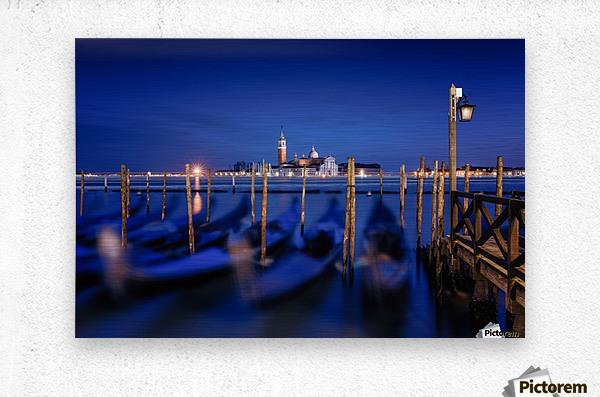 San Giorgio Maggiore Island, Venice by Photography by Karen  Metal print
