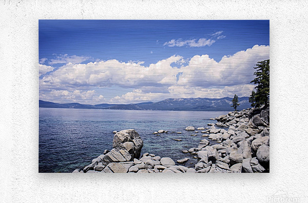 Out West 7 of 8  Metal print