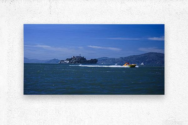 The Rock Alcatraz San Francisco  Metal print
