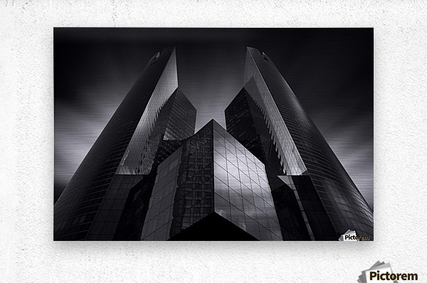 Headquarter by Sebastien DEL GROSSO  Metal print