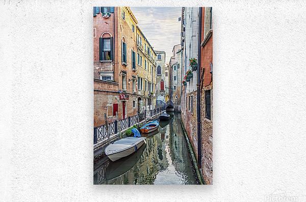 Quiet Venice  Metal print