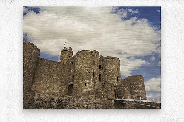 Aberystwyth Castle  Metal print