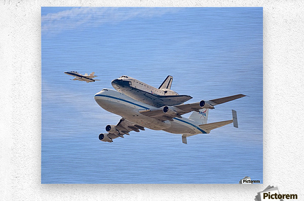 Flying into History by Andrew J. Lee  Metal print