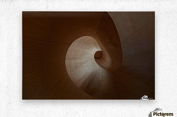 Spiral by Heather Bonadio   Impression metal