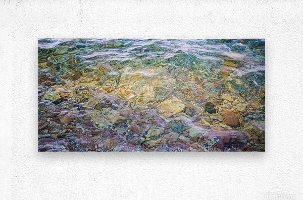 Water Colors ap 2562  Metal print